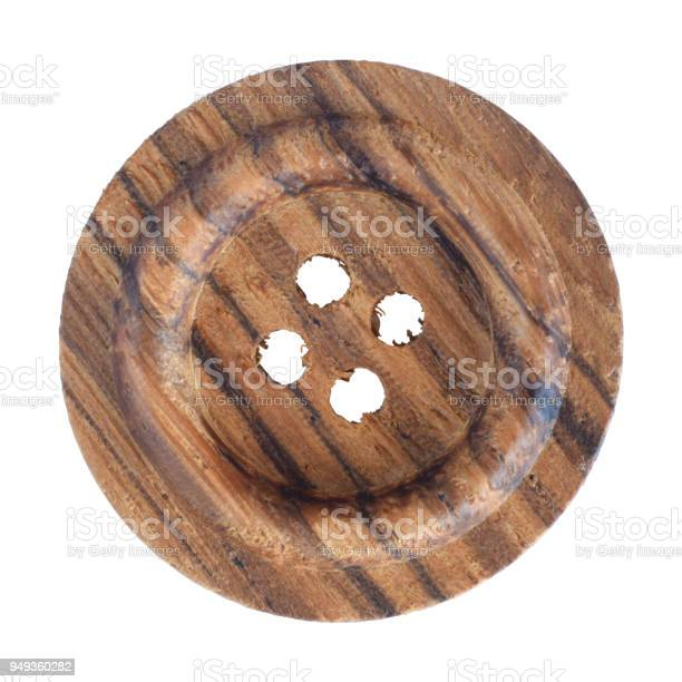 Wooden button isolated on white picture id949360282?b=1&k=6&m=949360282&s=612x612&h=nfd1nho09kk46abofqonhoycjkqbhqykddq8ttxa9ui=