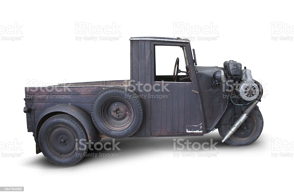 wooden cars stock photo
