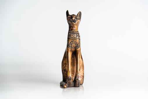 Wooden cat - souvenir from Egypt