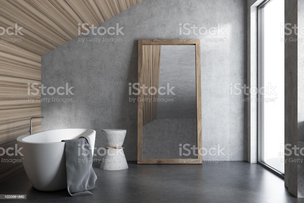 Holzdecke Dachgeschoss Badezimmer Interieur Stockfoto Und Mehr Bilder Von Architektur Istock