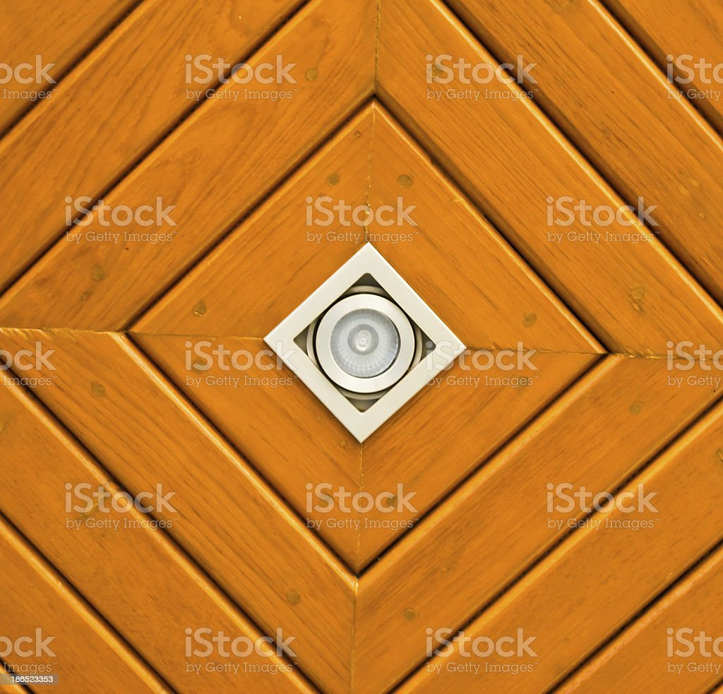 wooden ceiling royalty-free stock photo