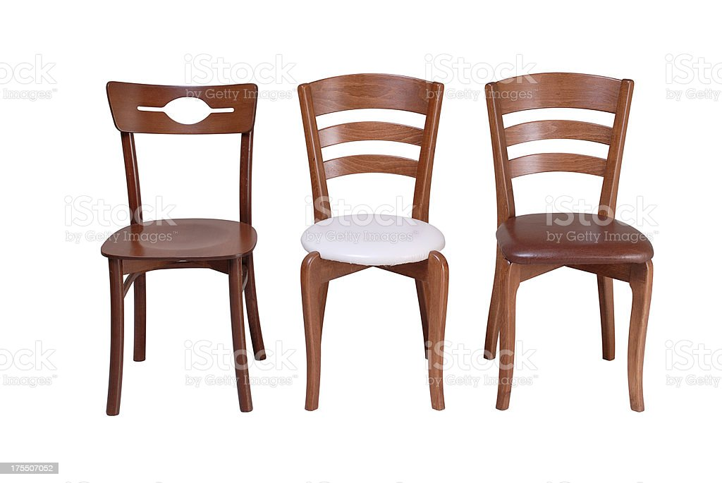 Wooden Chairs (Click for more) stock photo