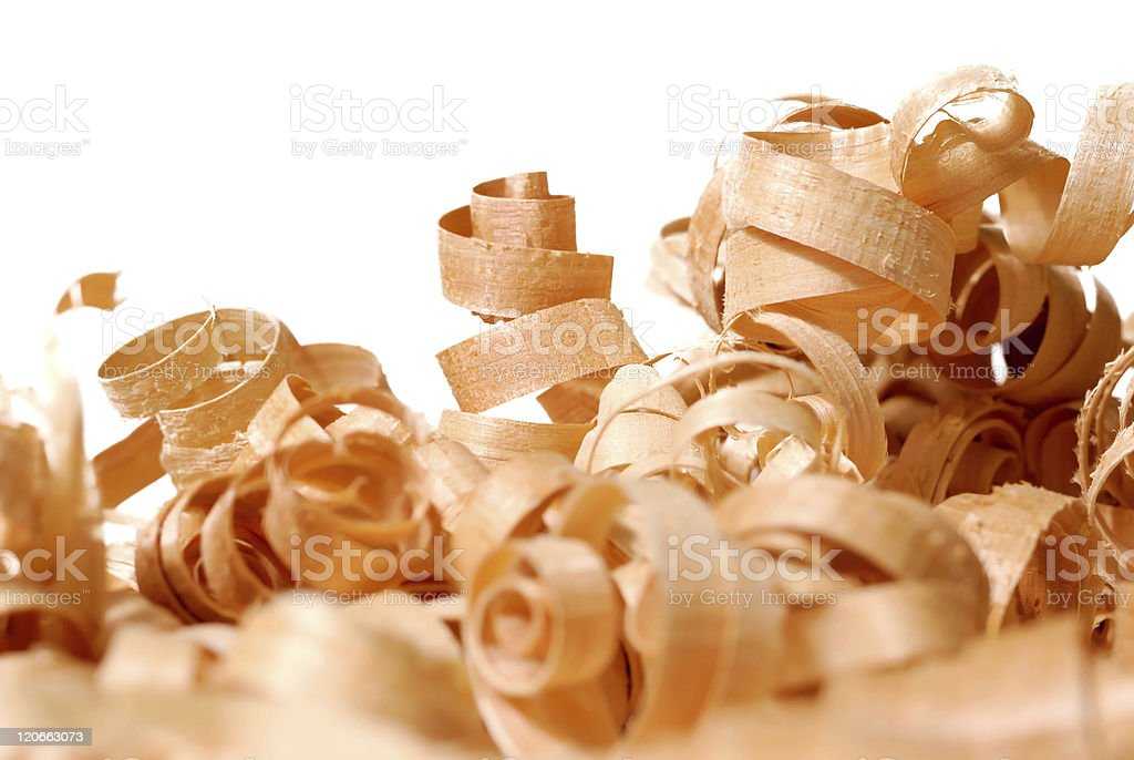 Wooden chips royalty-free stock photo
