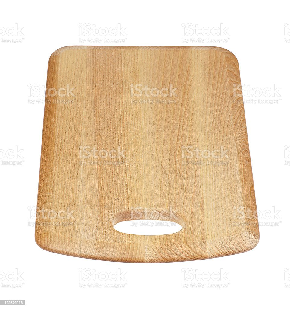 Wooden Chopping Board royalty-free stock photo