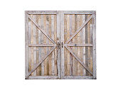 istock wooden closed door 1249703370