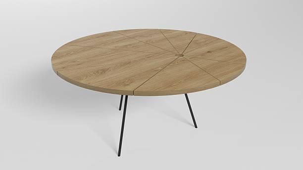 de madeira mesa de café - coffee table imagens e fotografias de stock