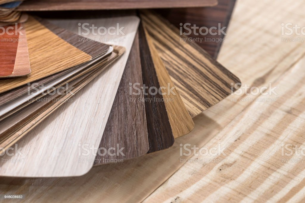 wooden  construction planks for  furniture decor stock photo