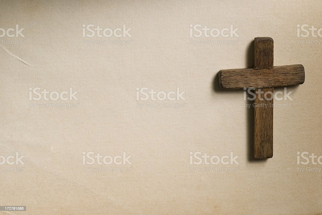 Wooden Cross royalty-free stock photo