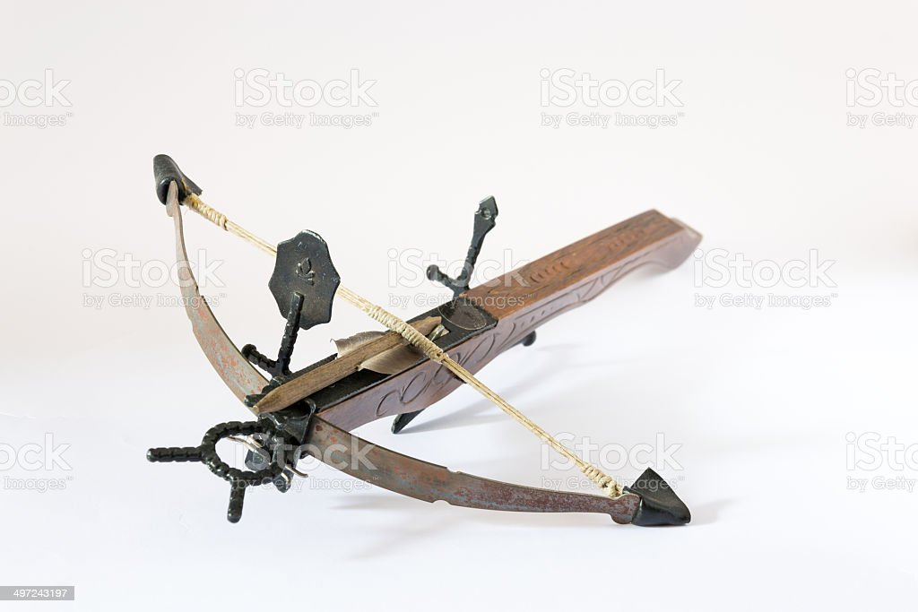 Fabriqué en Italie en bois crossbow - Photo
