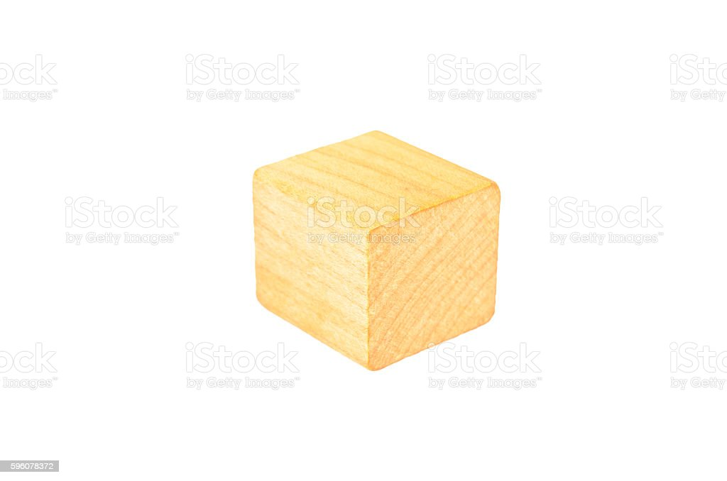 wooden cube block royalty-free stock photo