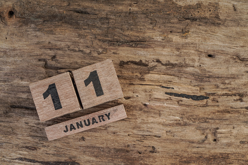 488008496 istock photo wooden cube calendar for january 502151218
