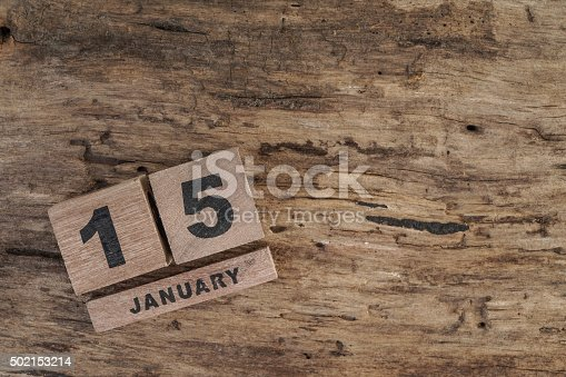 istock wooden cube calendar for january 502153214