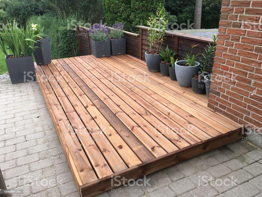 Holzboden Terrasse Stockfoto und mehr Bilder von Architektur   iStock