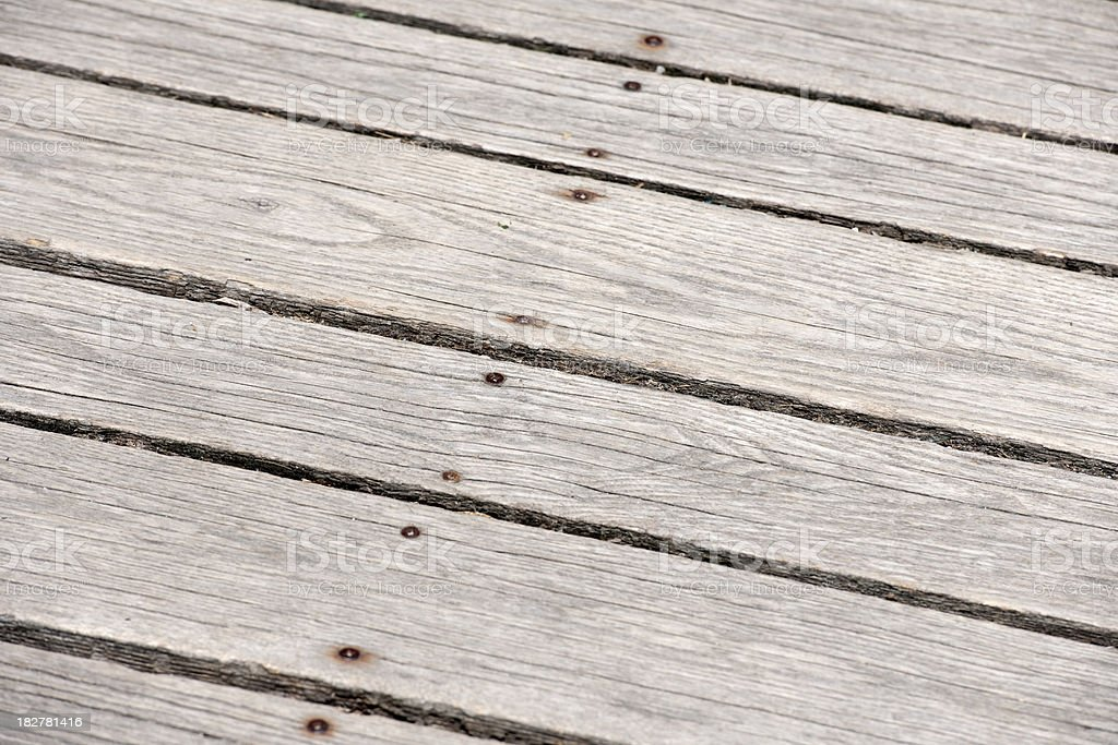 Wooden Deck royalty-free stock photo