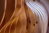 Wooden decorative interior finish