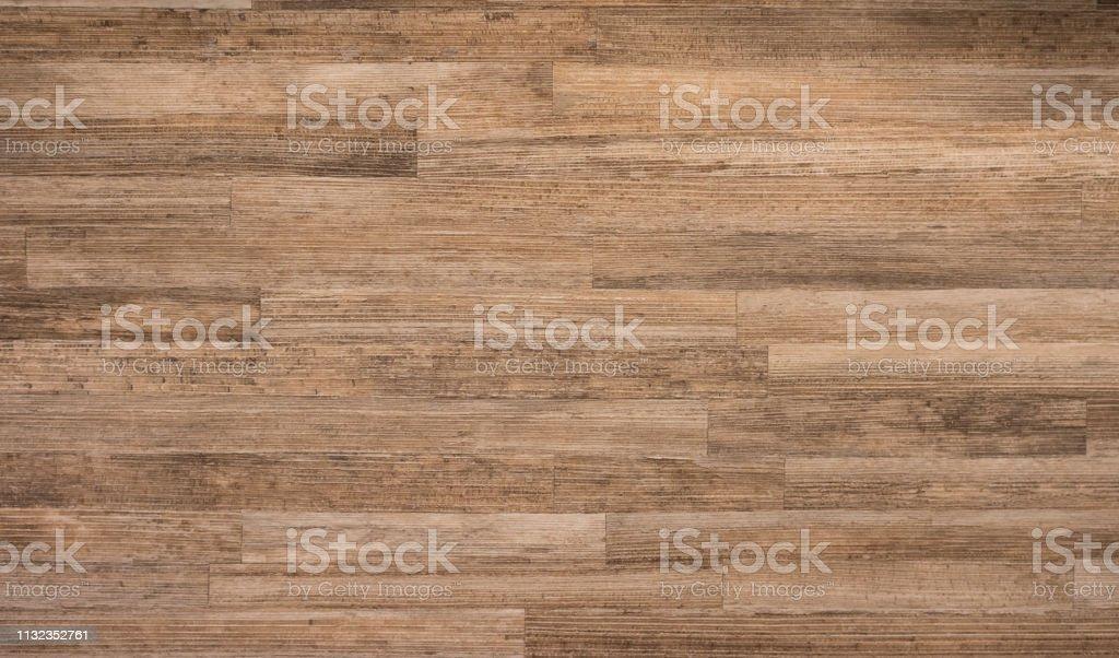 Houten bureau textuur, bruin hout materiaal en oppervlak, natuur bouwmateriaal - Royalty-free Abstract Stockfoto