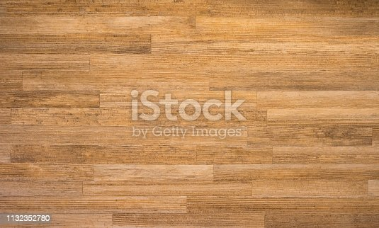 Wooden desk texture, brown wood material and surface, nature construction material.