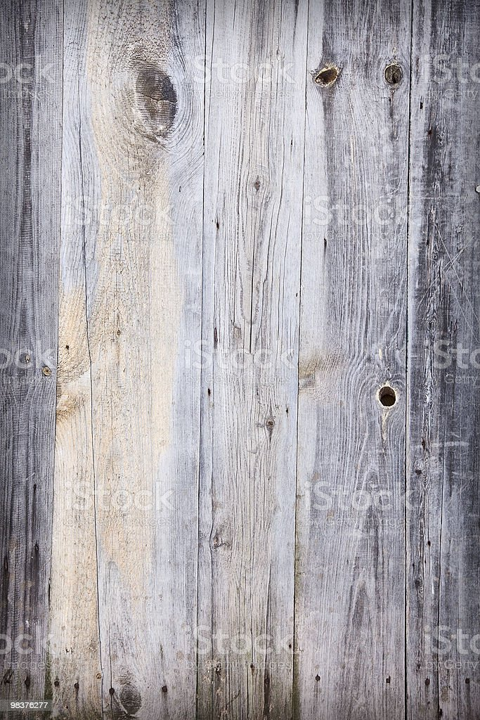 Wooden dirty background with cracks and stains royalty-free stock photo