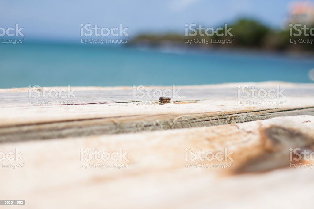 Wooden Dock - Royalty-free Antique Stock Photo