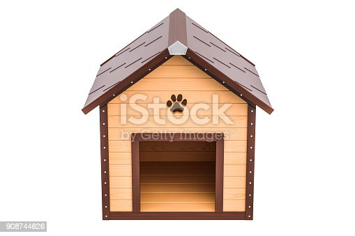 Istock Dogs House And Small Dog 495353836 Istock Dogs