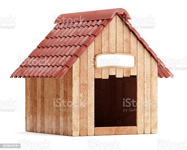 Wooden doghouse isolated on white background picture id503845284?b=1&k=6&m=503845284&s=612x612&h=ita3rawiyjzxivj16nclc y cdaetidxqwkkgnpq1hy=