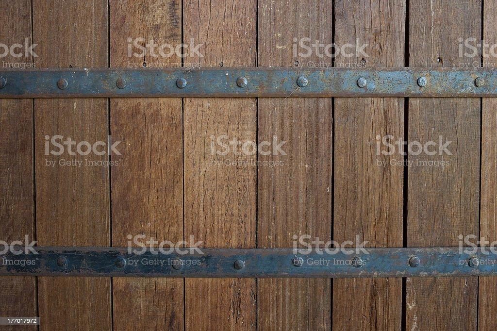 Porta de madeira - foto de acervo