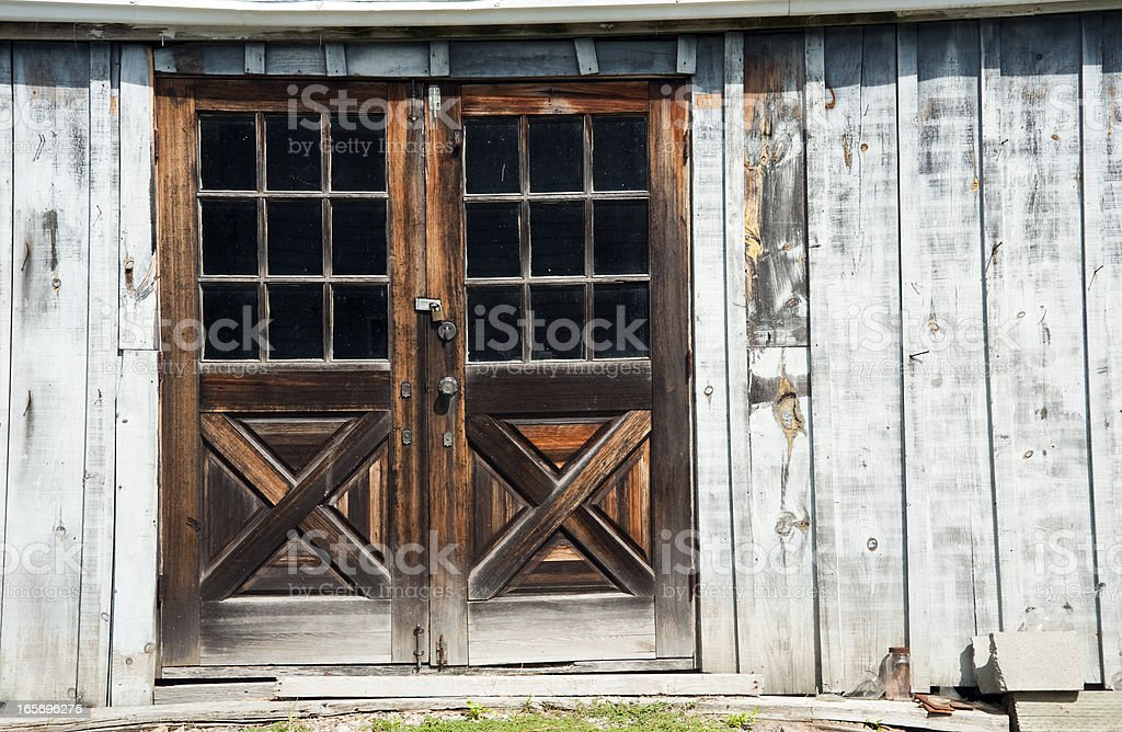 Wooden Doors stock photo