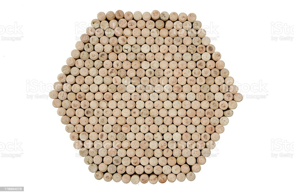 wooden dowels royalty-free stock photo
