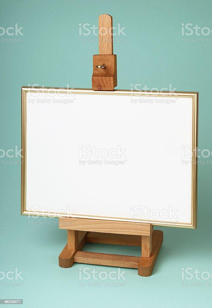 Cavalletto in legno foto stock royalty-free