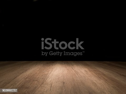 istock Wooden empty table 903865232