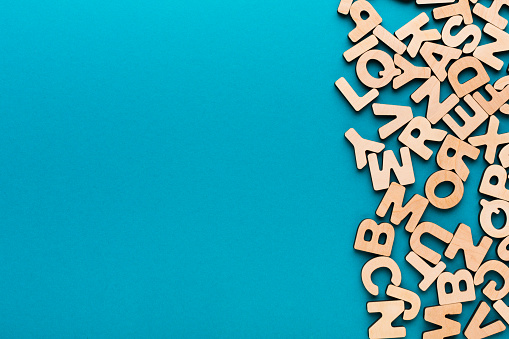 istock Wooden english letters background 838218772