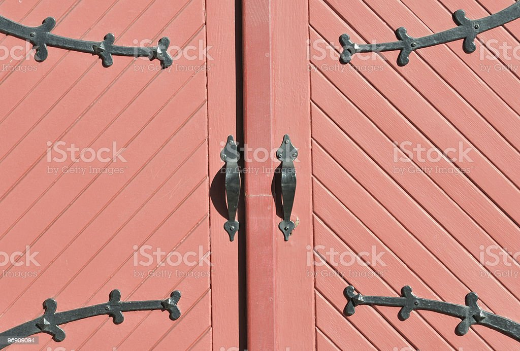 Wooden Entrance. royalty-free stock photo