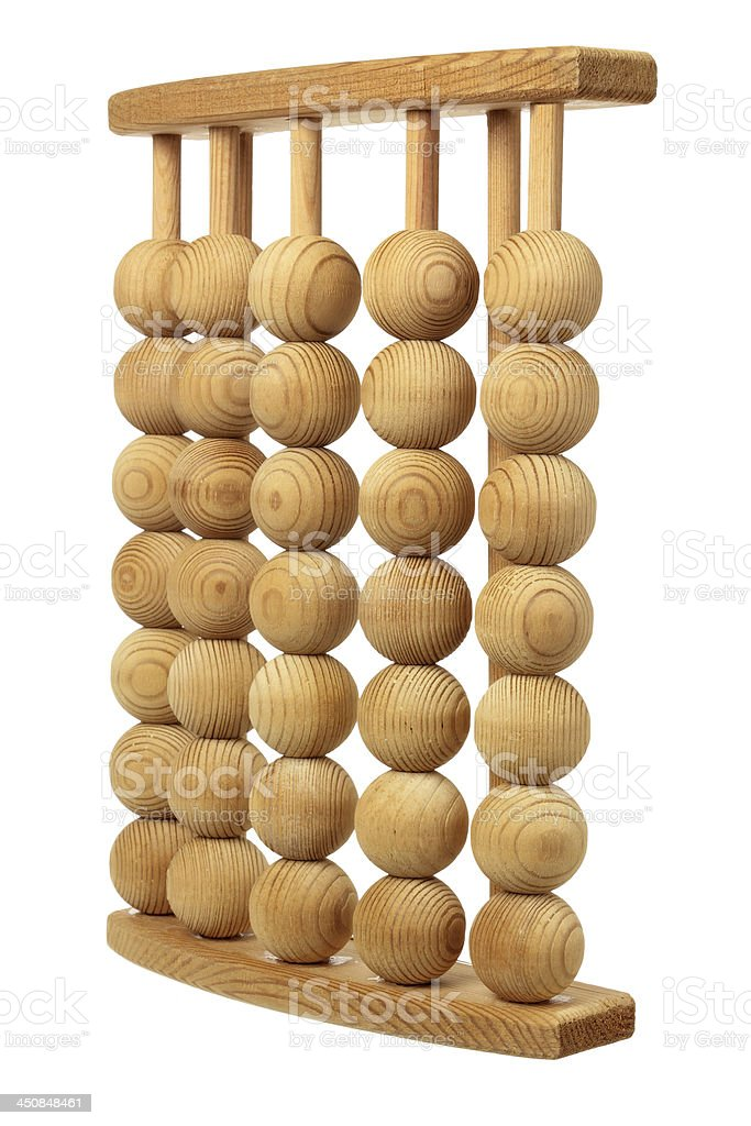 Wooden Feet Massager royalty-free stock photo