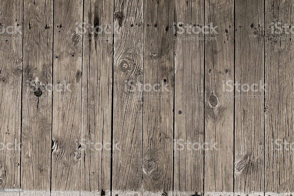 Wooden fence background royalty-free stock photo