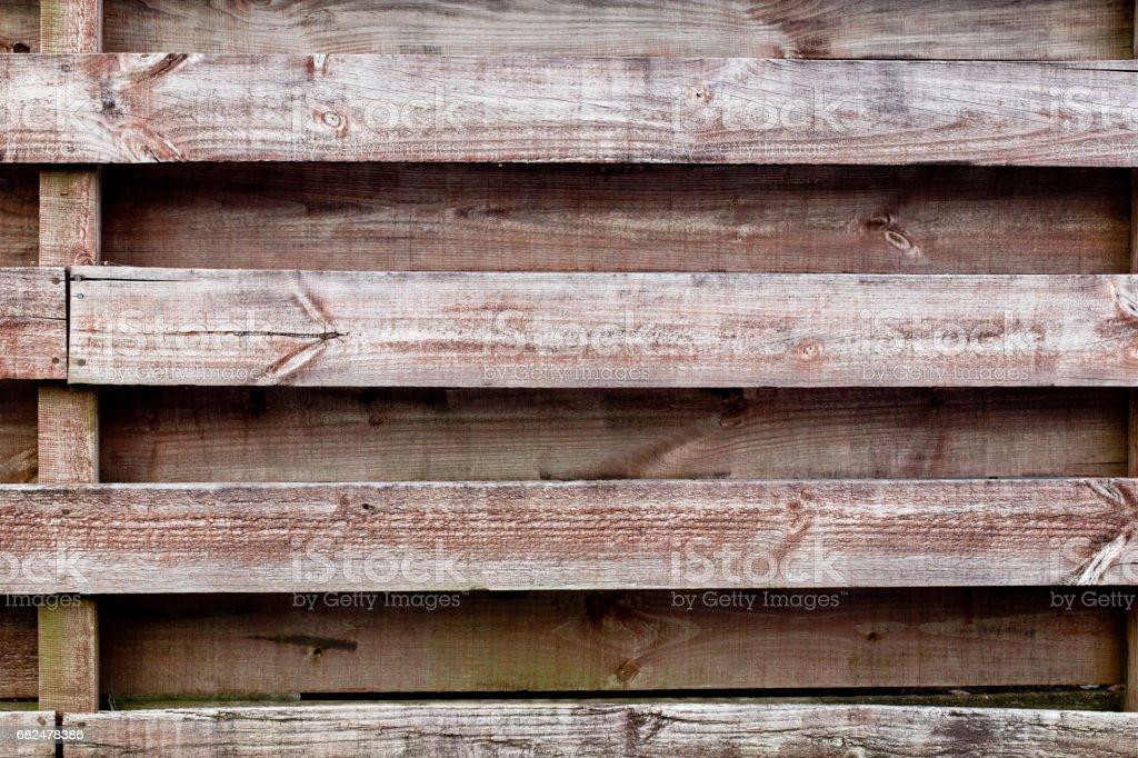 Holz-Zaun-Hintergrund Lizenzfreies stock-foto