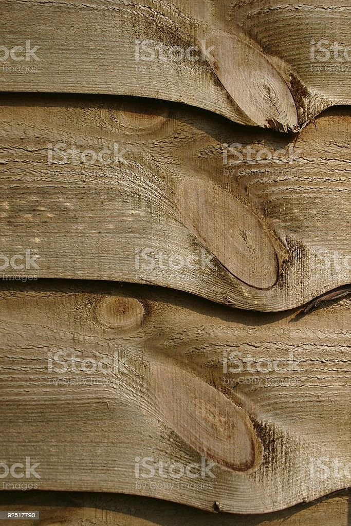 Wooden fence detail royalty-free stock photo