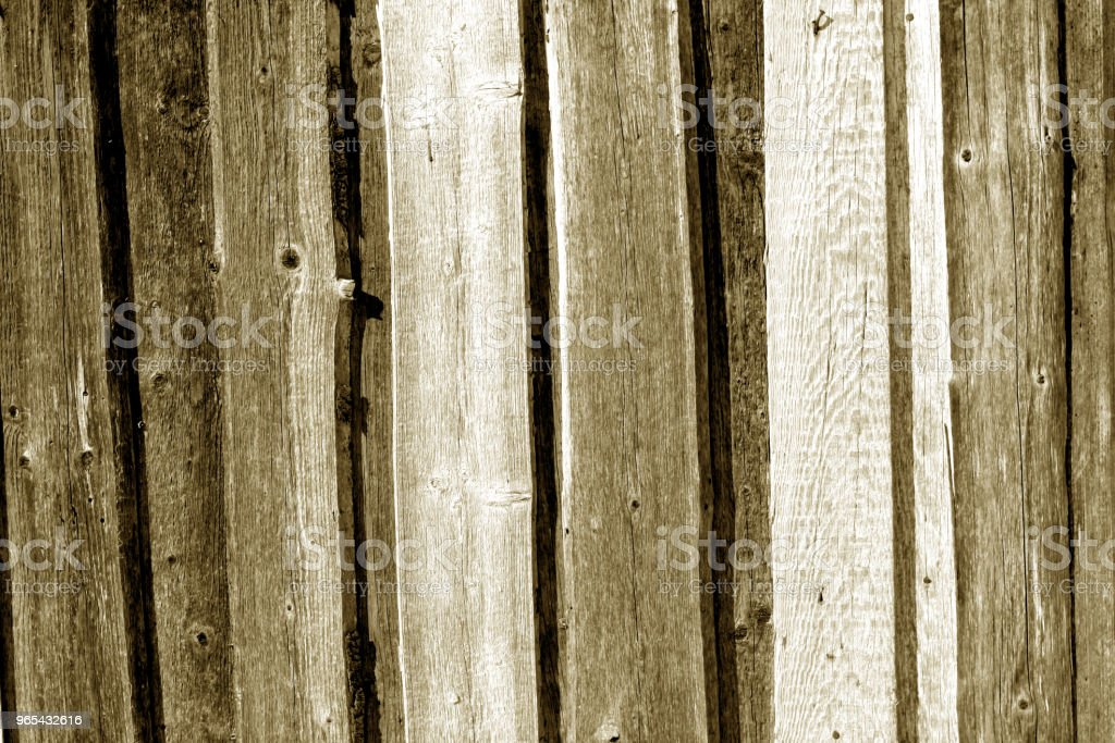 Wooden fence pattern in brown color. royalty-free stock photo