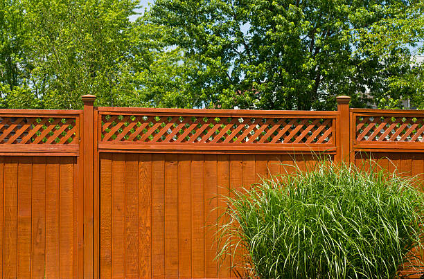 wooden fence - fence stock photos and pictures