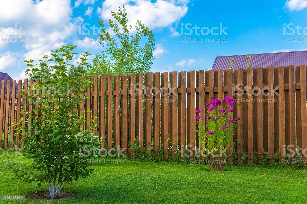 Holz Zaun  – Foto