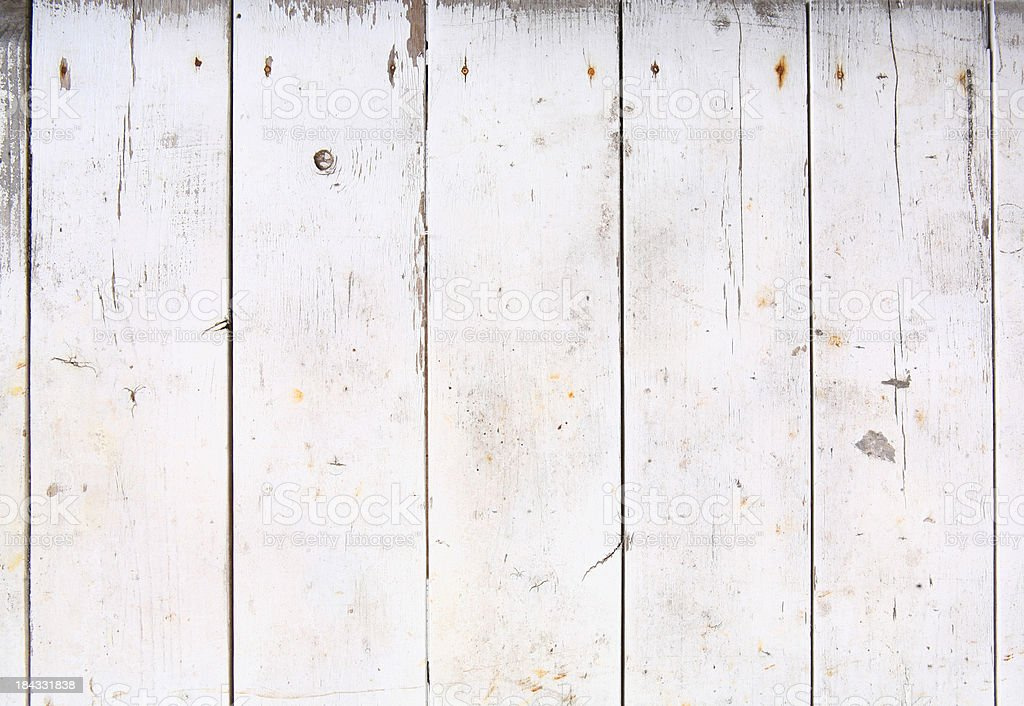 Wooden Fence Planks royalty-free stock photo