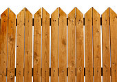 istock wooden fence textured garden background object isolated on white 1197201307