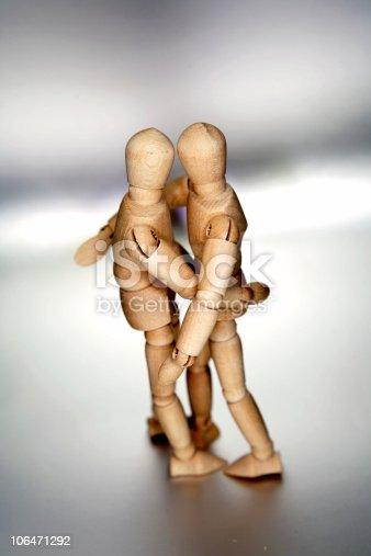 istock Wooden figures 106471292