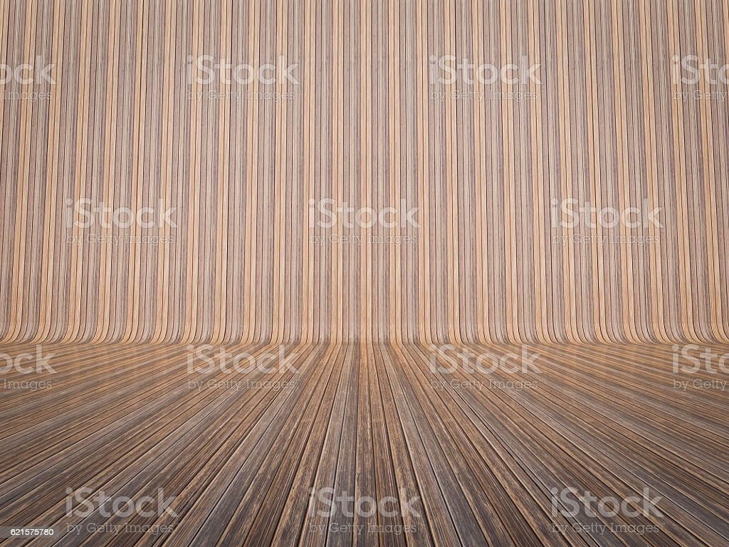 wooden floor and wall background photo libre de droits