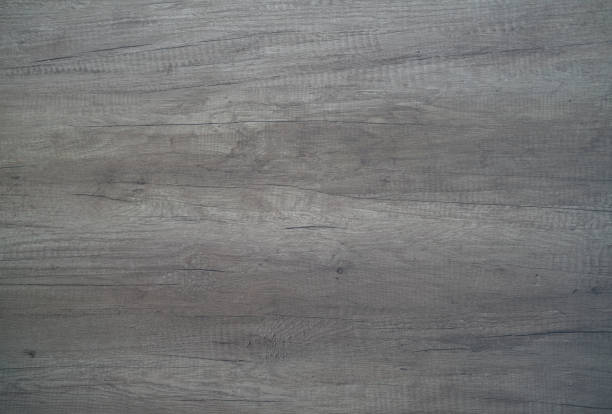 wooden floor close up - grey texture stock photos and pictures