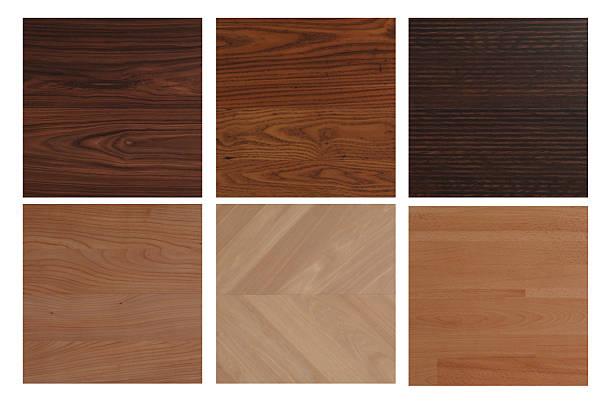 Wooden floor patterns stock photo