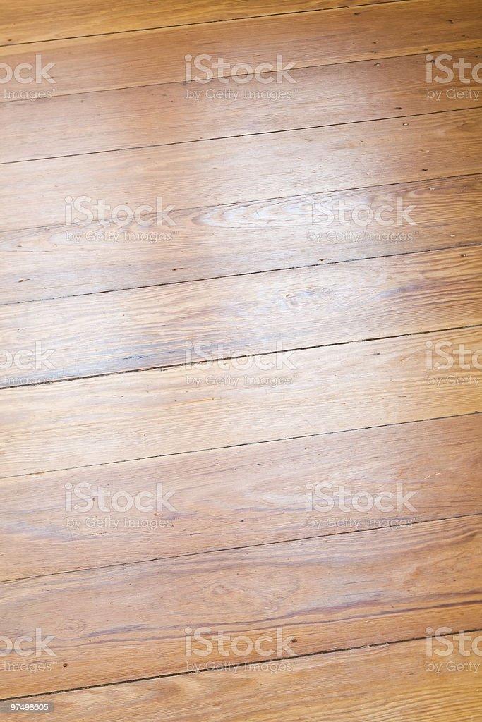 wooden floor royalty-free stock photo