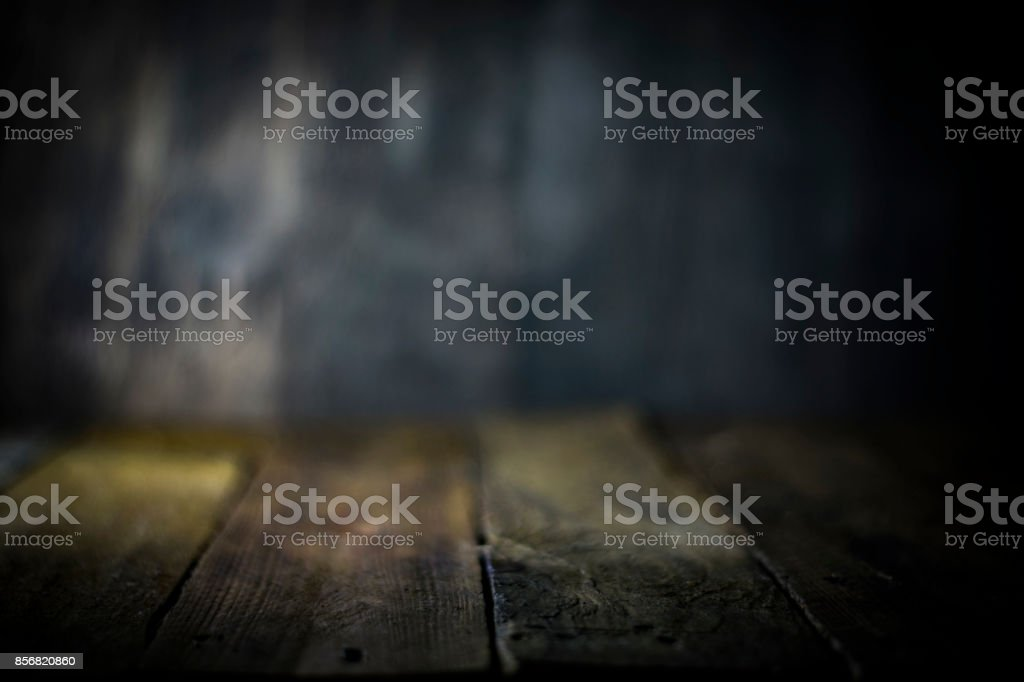 wooden floor with grey texture background for product or text stock photo