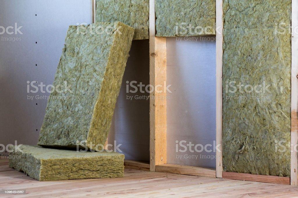 Holzrahmen Für Zukünftige Wände Mit Gipskartonplatten ...