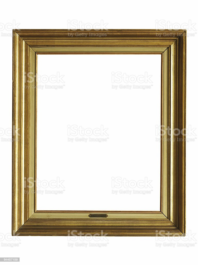 Wooden frame royalty-free stock photo