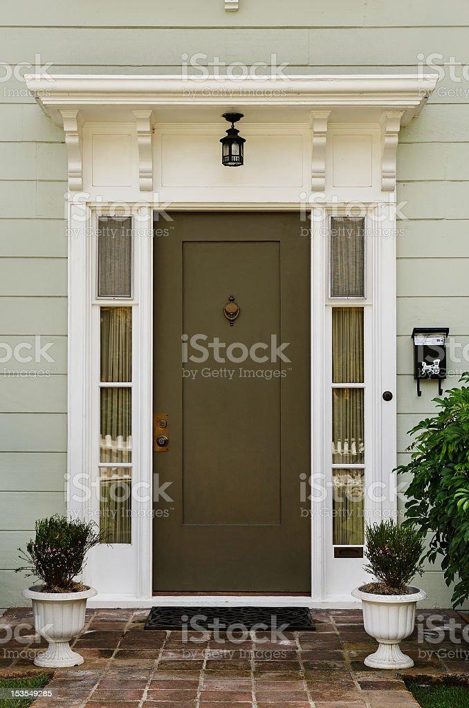 Hölzerne Tür – Foto